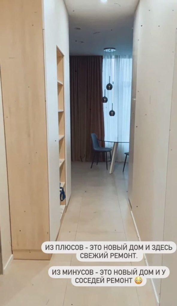 Володимир Остапчук показав фото квартири, в якій оселився з новою дружиною