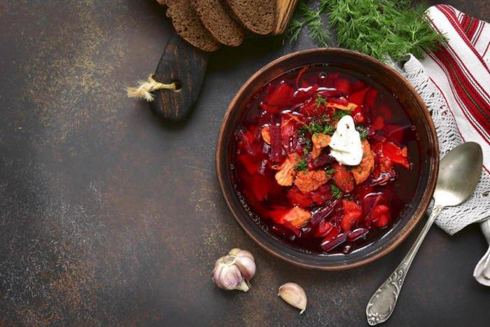Борщ по-галицки с квасом – как готовят традиционное блюдо на Западной Украине