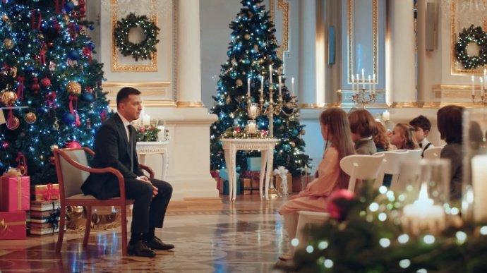 За участие в съемках новогоднего обращения Зеленского детям заплатили по 500 гривен