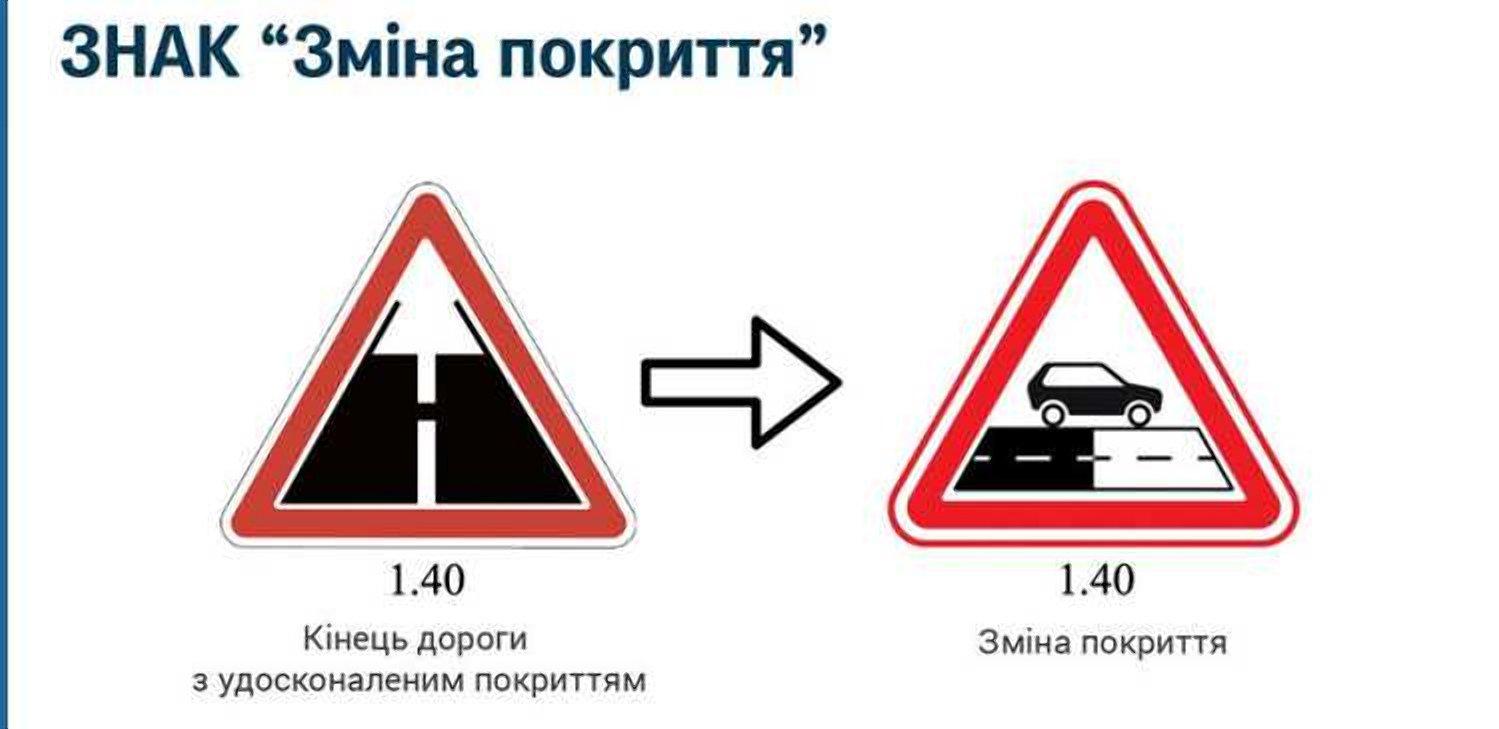 В Україні з'явився новий дорожній знак