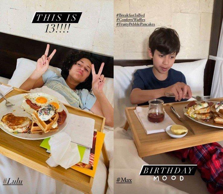 Дженнифер Лопес показала подросших близнецов: Эмма и Макс отметили 13-й день рождения