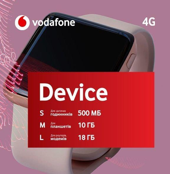Vodafone запустив новий бюджетний тариф за 50 гривень
