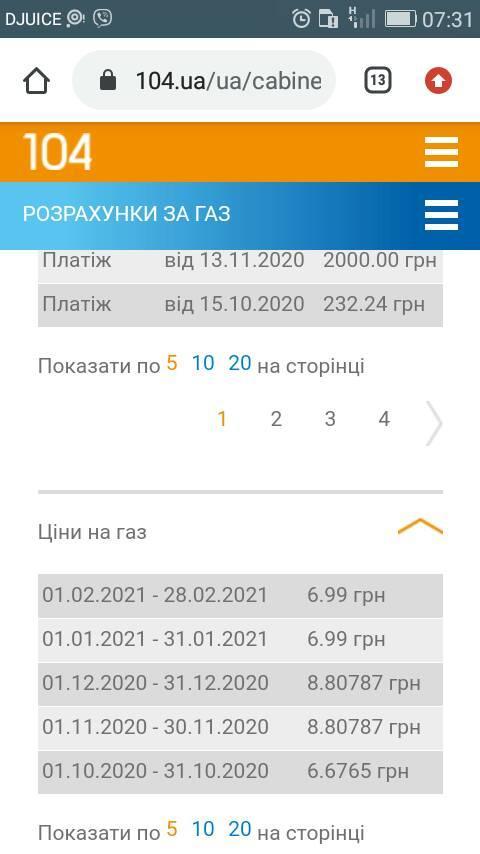 """В Україні облгази """"заднім числом"""" знизили січневі тарифи на газ"""