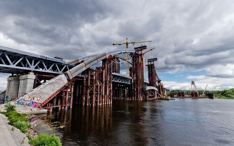 Кличко назвав нові терміни будівництва моста на Троєщину