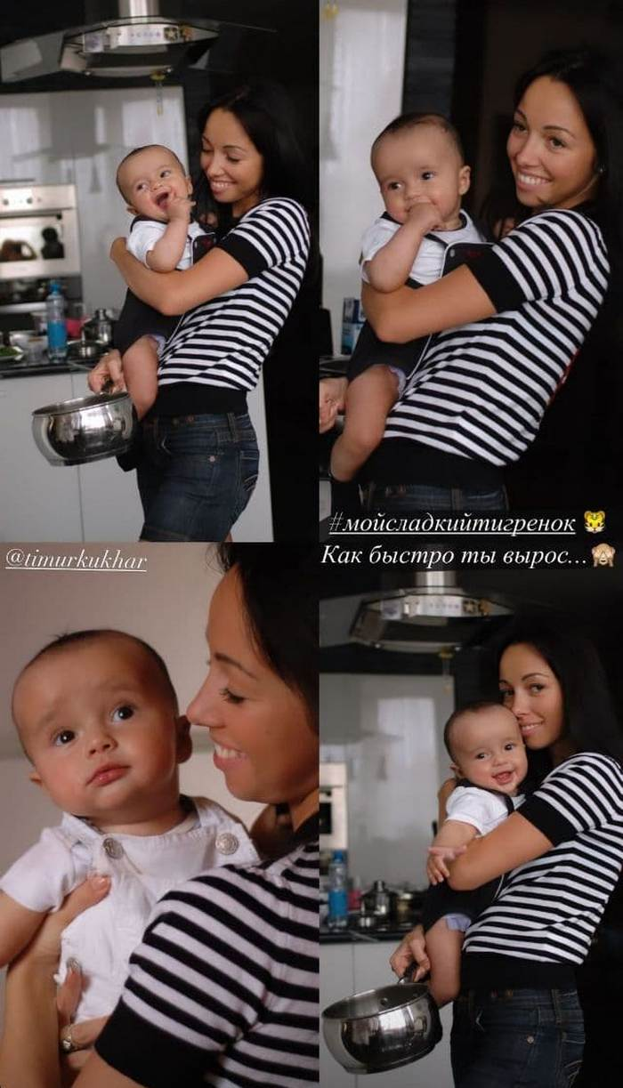 Екатерина Кухар показала архивное фото с сыном и поздравила Тимура с днем рождения