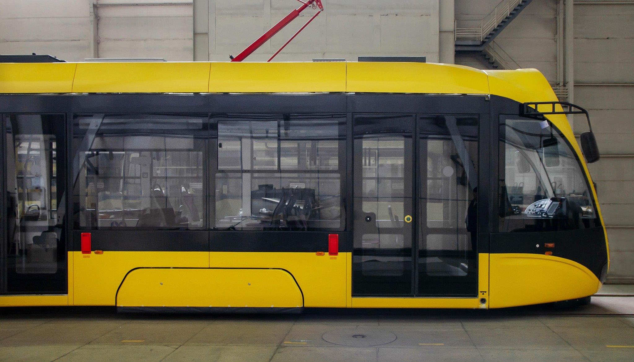 Київ отримає 20 нових трамваїв українського виробництва