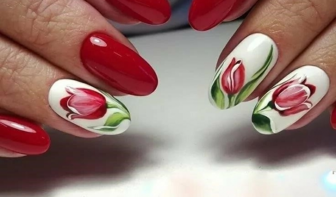 Весняний манікюр на короткі нігті: свіжі ідеї дизайну з фото