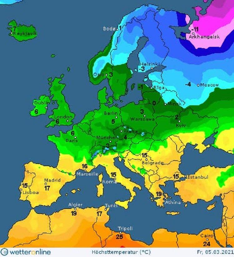 В Україні пройдуть дощі з мокрим снігом: прогноз погоди від Наталки Діденко