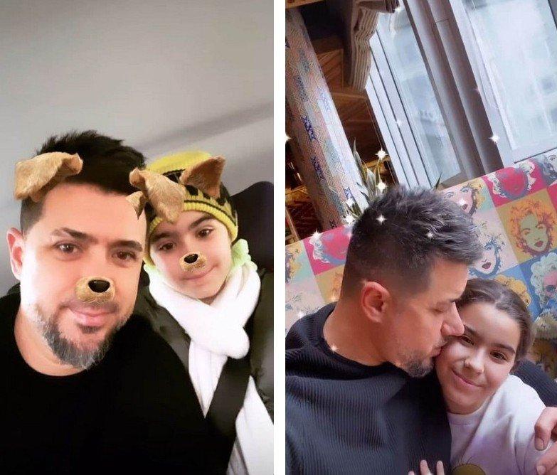 Бывший муж Ани Лорак показал подросшую дочь, с которой повеселился в Москве