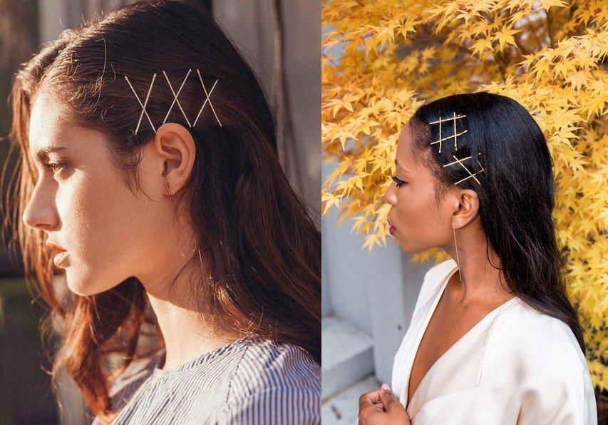 Зачіски із заколками: як красиво носити аксесуари для волосся