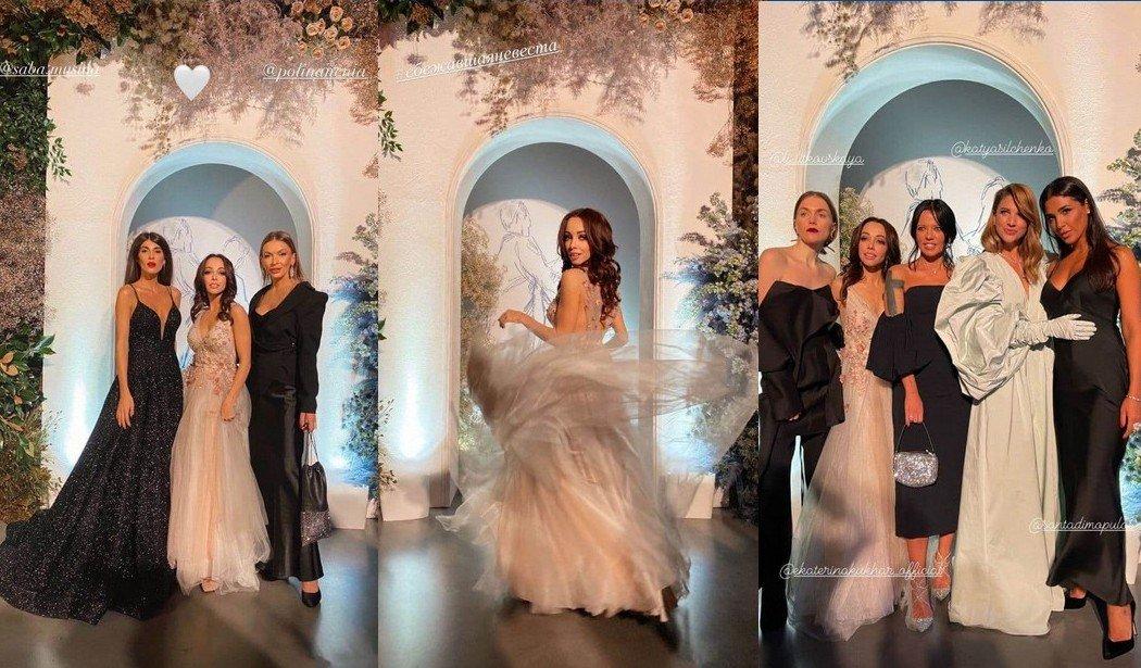 Ефросинина, Осадчая и Кухар в невероятно красивых платьях посетили бал