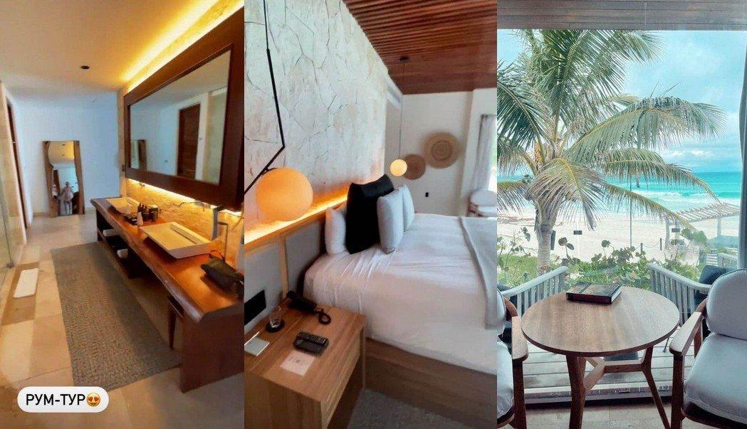 Влад Яма показав готель, в якому відпочив з дружиною в Мексиці