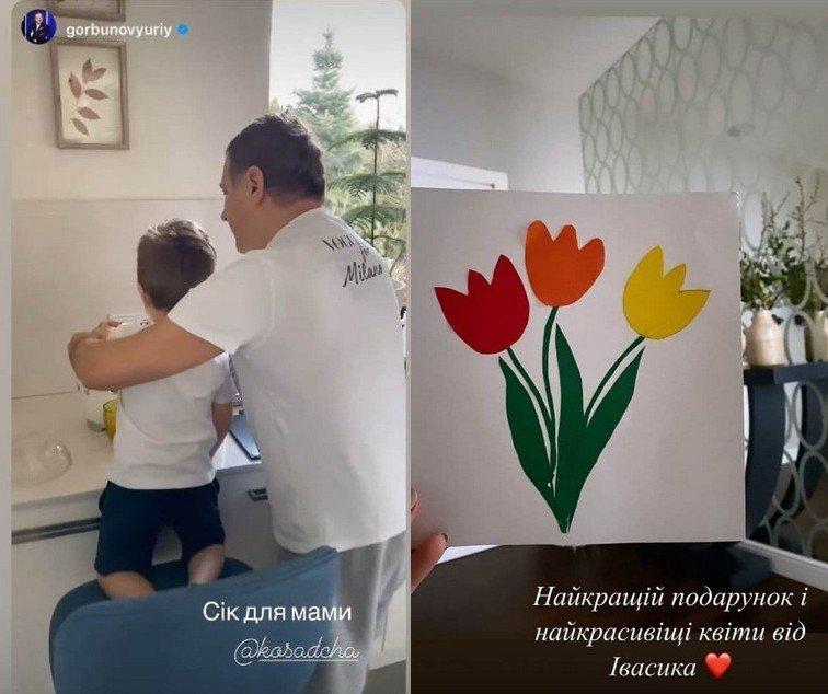Современная техника и ретро-мебель: Катя Осадчая показала интерьер своего дома