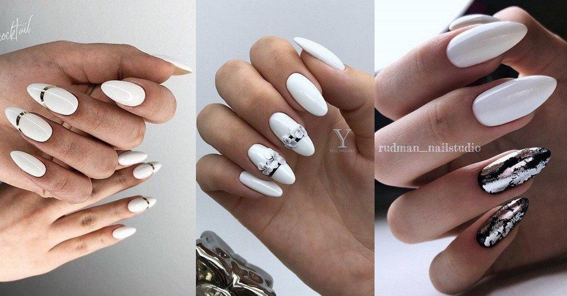 Белый маникюр на свадьбу 2021: самый стильный дизайн для современной невесты