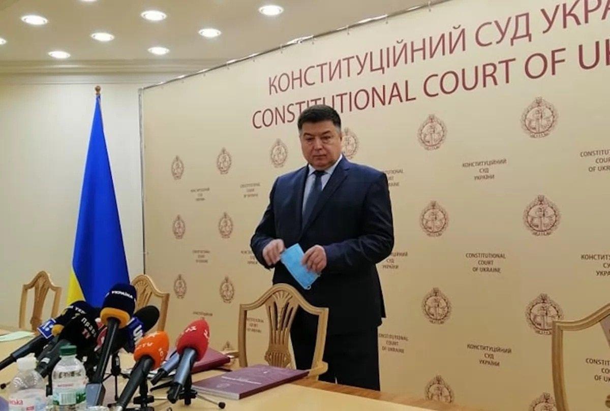 Відсторонений від посади глава КС Тупицький блокує своє звільнення