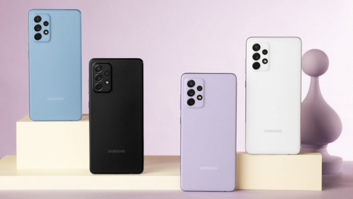 Samsung випустив два бюджетних смартфони для українського ринку
