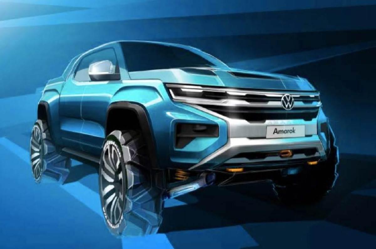 Volkswagen показав Amarok нового покоління