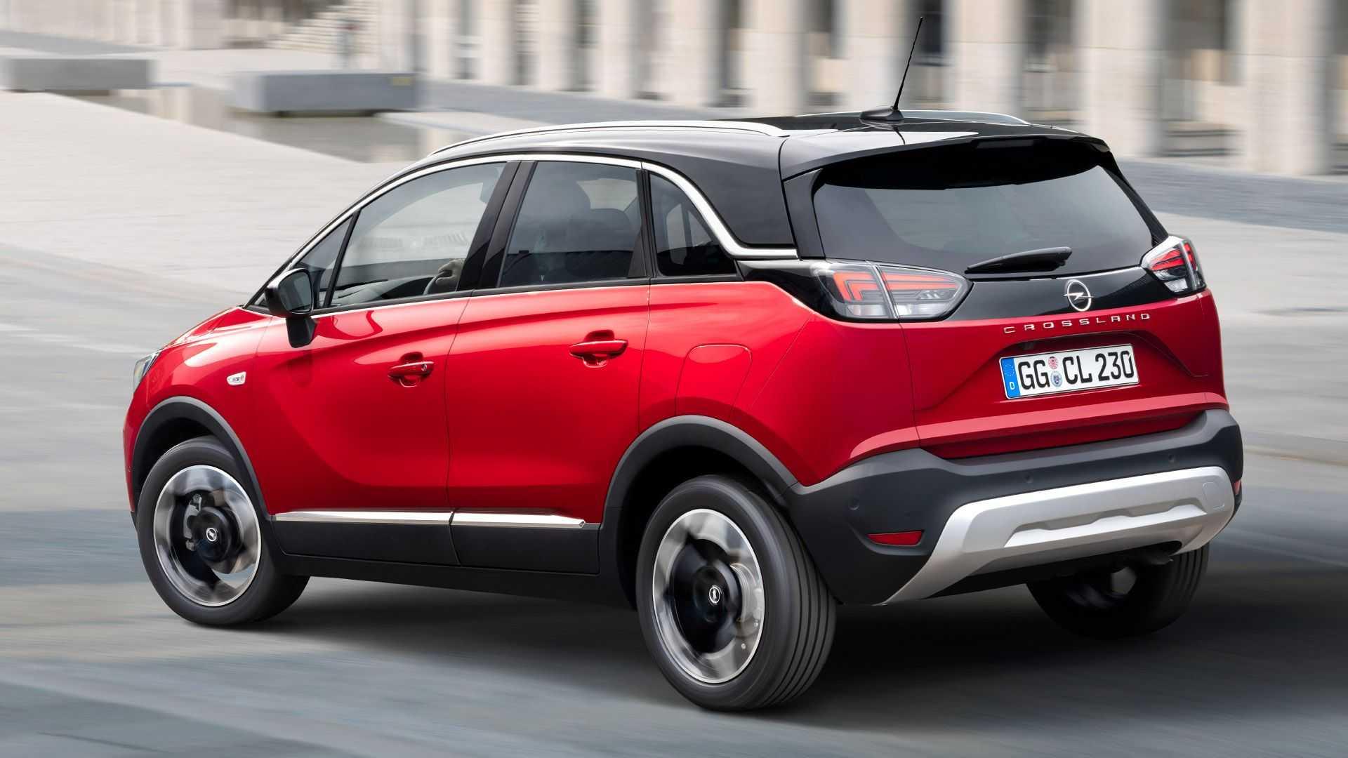 В Україні почалися продажі оновленого Opel Crossland