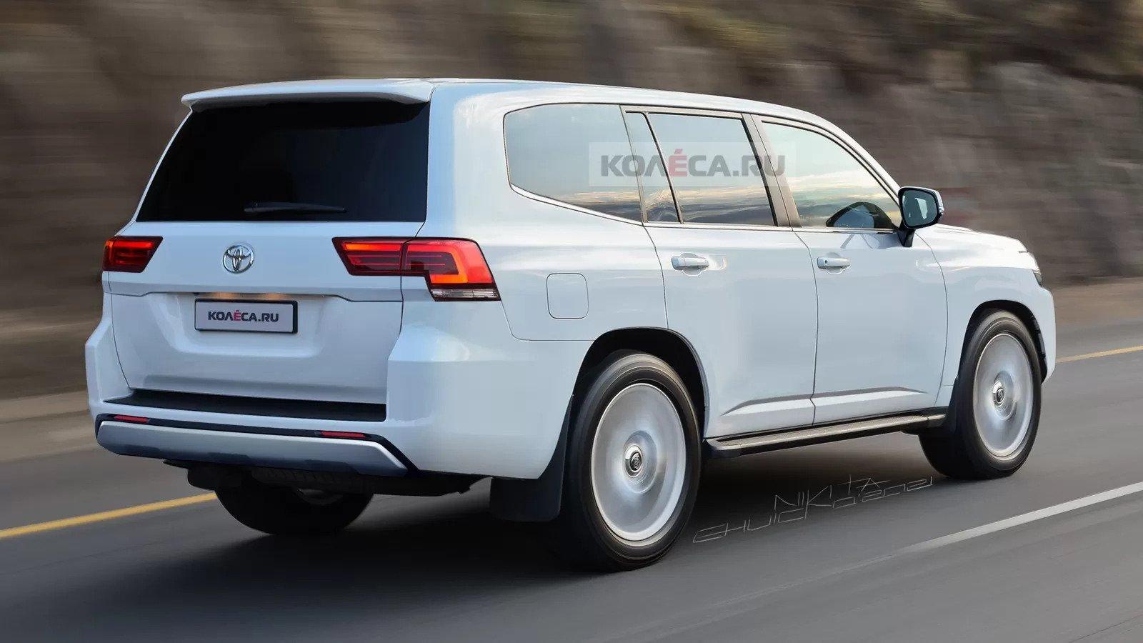 В Сети впервые показали новый Toyota Land Cruiser 300