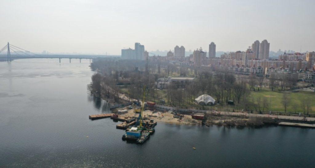 Кличко раскрыл подробности строительства нового пешеходного моста в Киеве