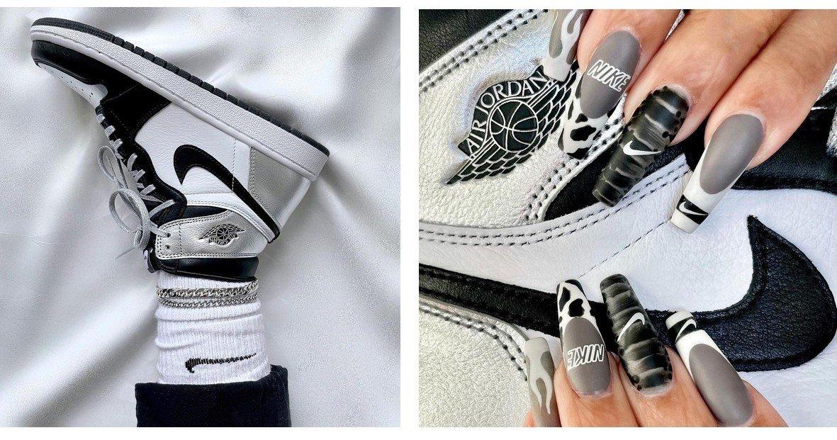 Маникюр под кроссовки - новый тренд в нейл-дизайне