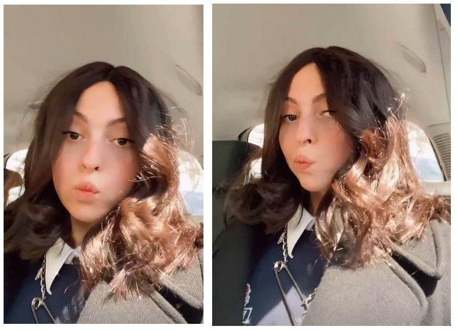 Дочка Олі Полякової обрізала волосся і похвалилася новою стрижкою