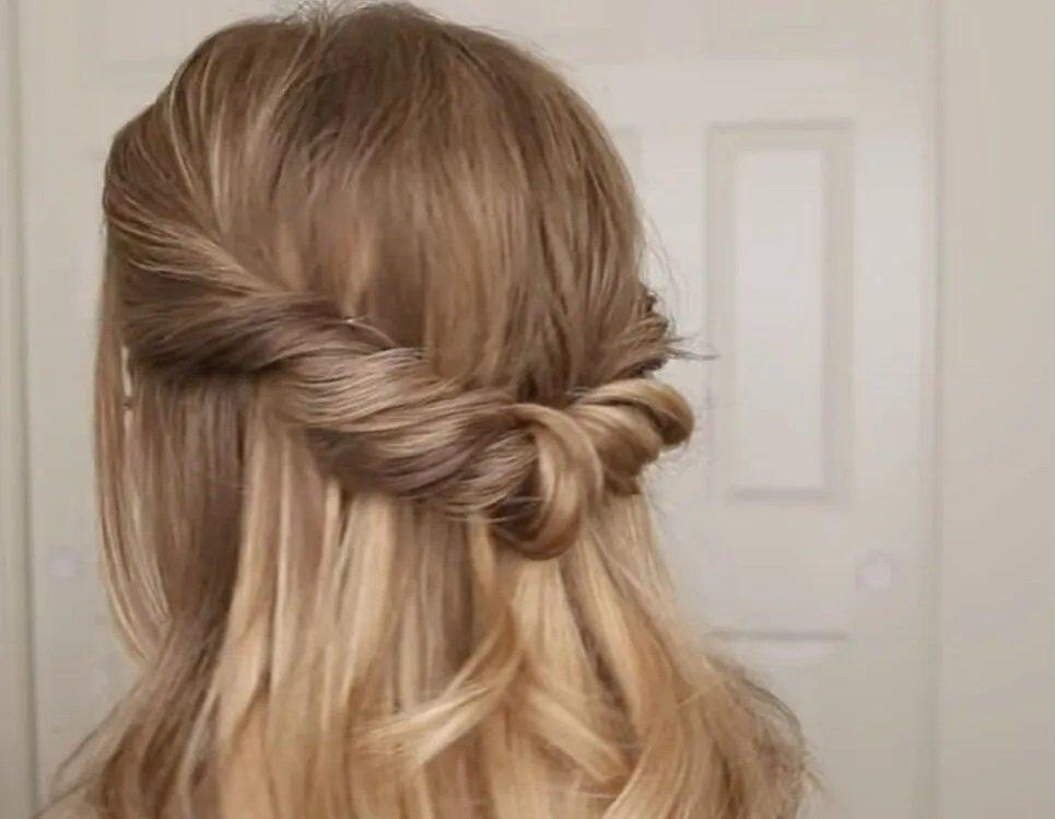 Три гарні зачіски на кожен день своїми руками