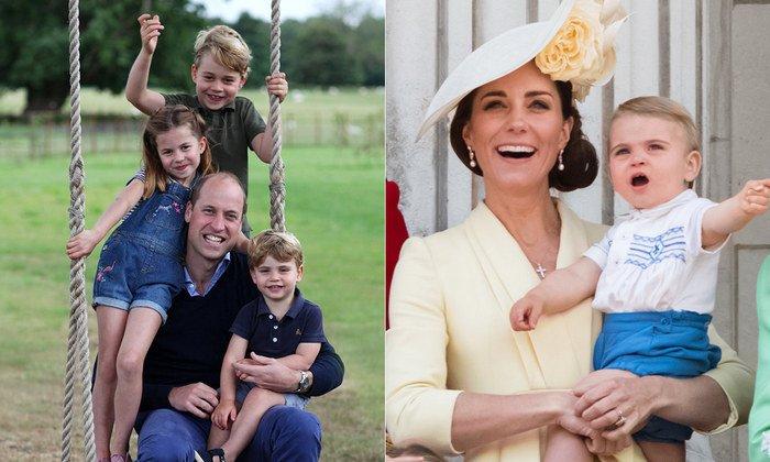 Кейт Міддлтон і принц Вільям показали нове фото молодшого сина в день його народження
