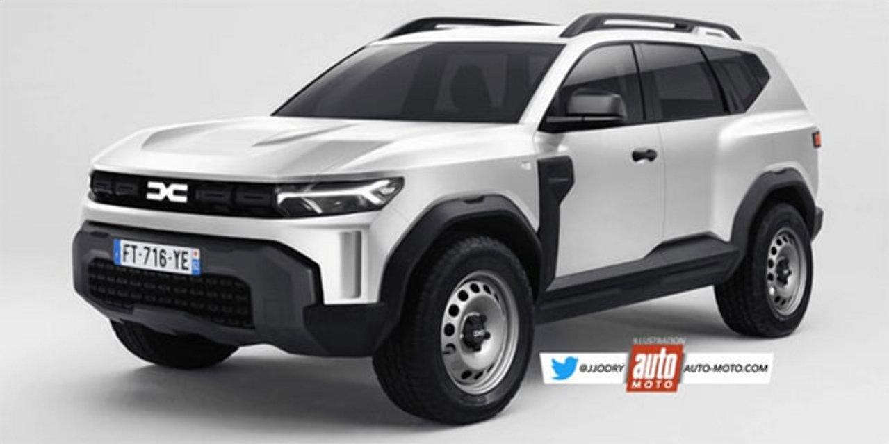 У Мережі показали нові зображення Dacia Bigster