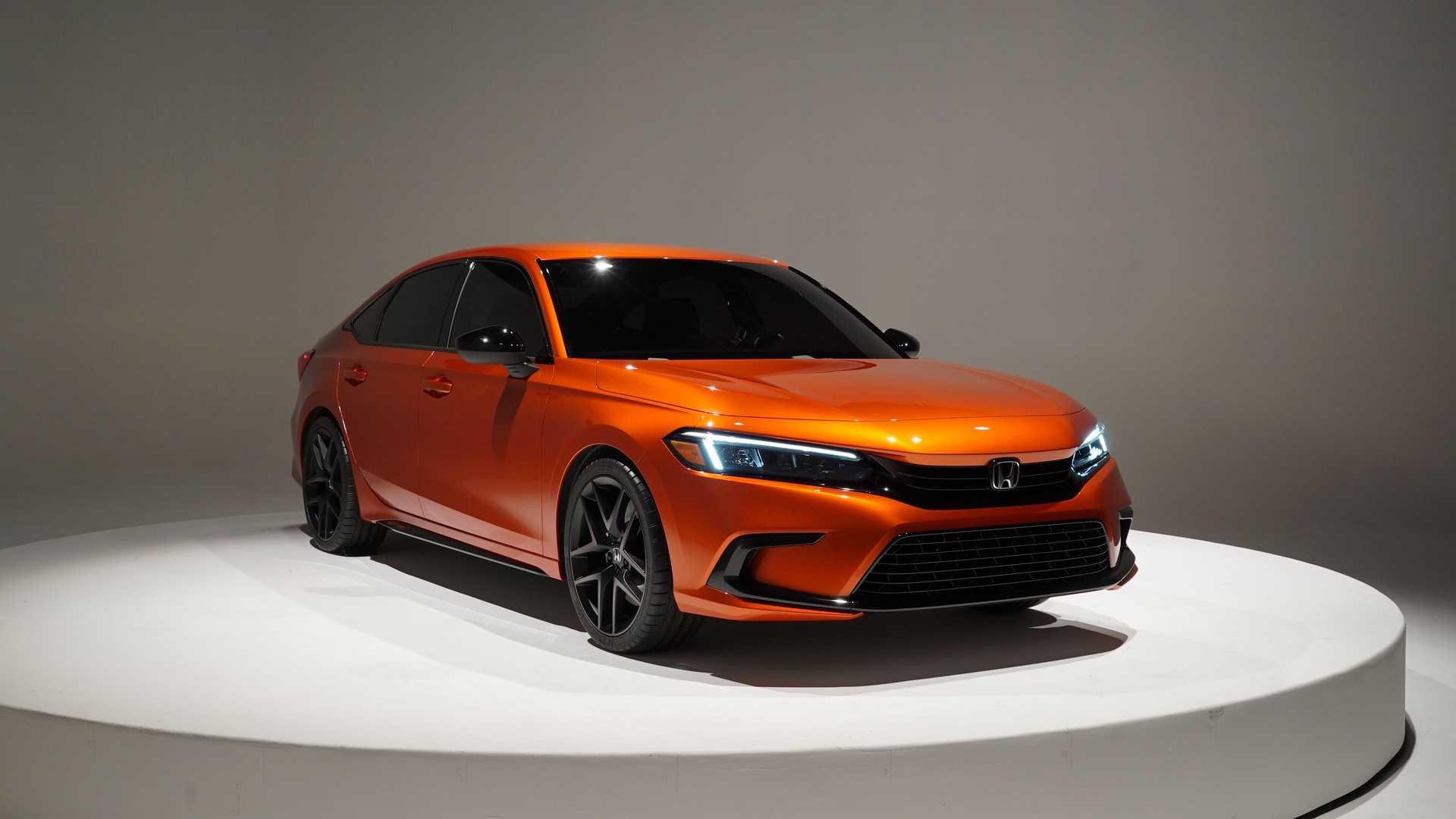 Honda впервые показала новый Civic