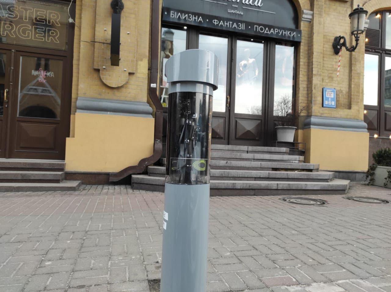 У Києві з'явилися камери фіксації порушень правил паркування