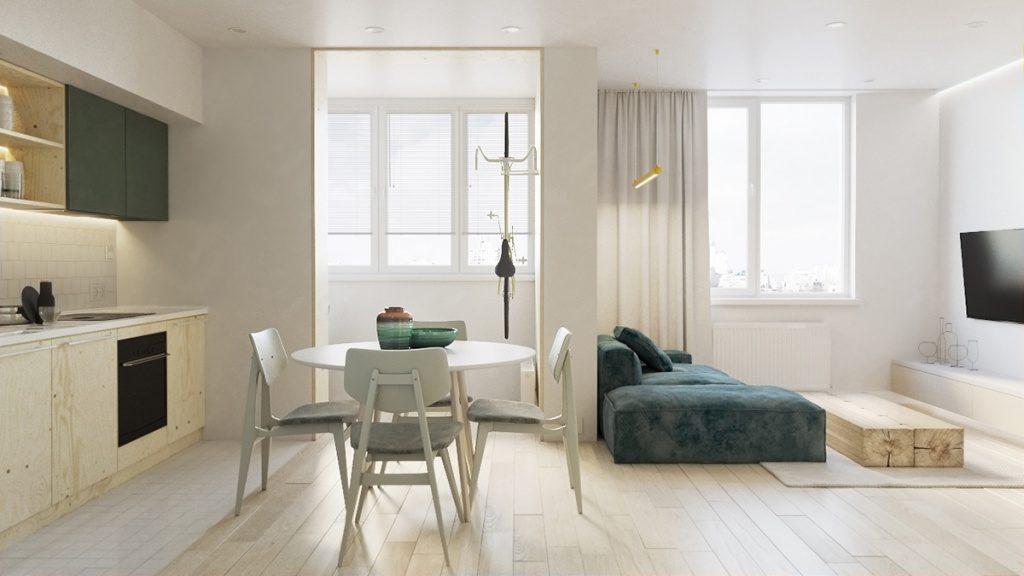 Цены на однокомнатные квартиры в крупных городах Украины