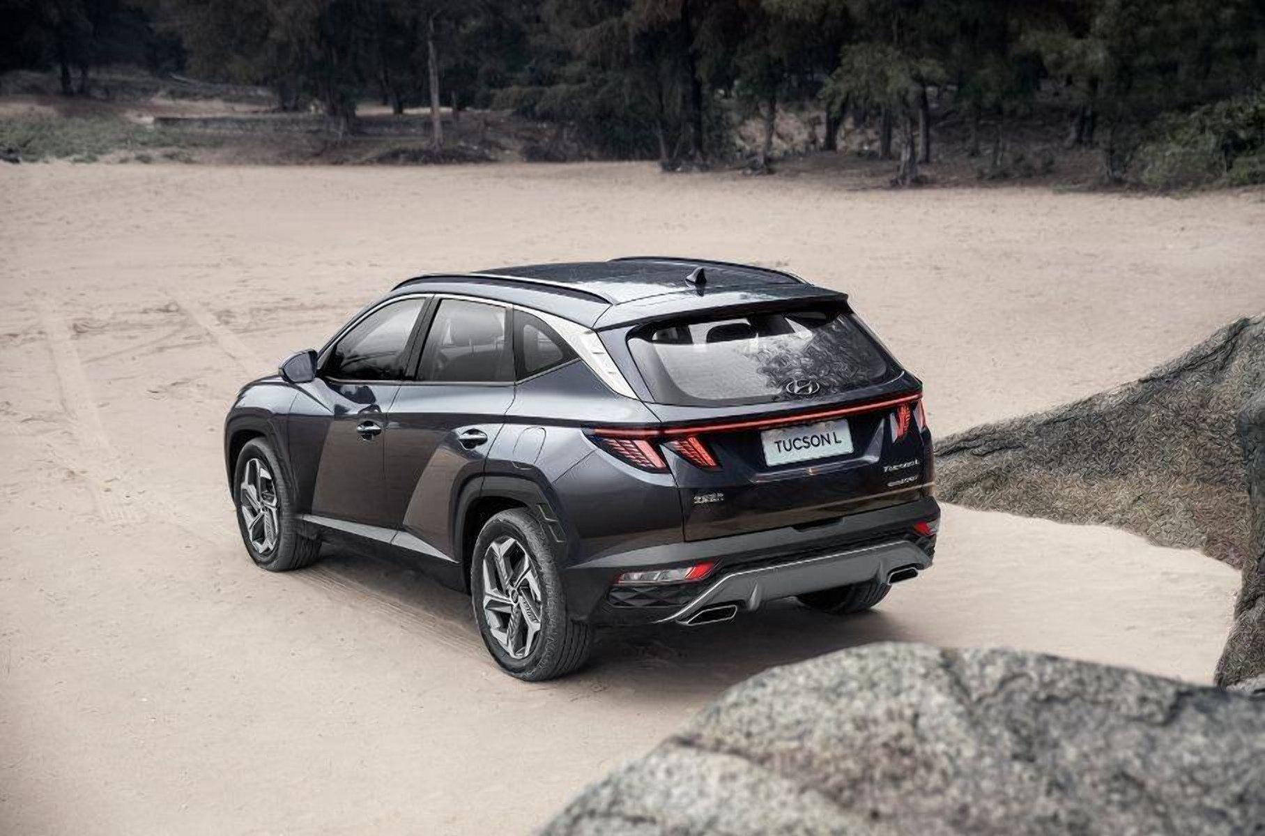 У Hyundai Tucson появилась удлинения версия