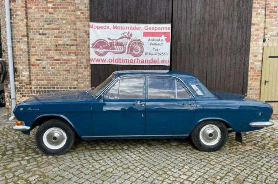 В Германии старую «Волгу» продают по цене Renault Logan