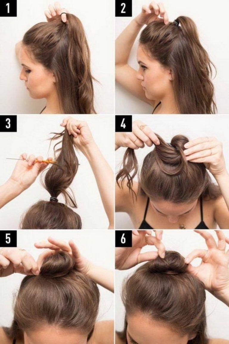 """Зачіска """"hun"""": наймодніше укладання для довгого і середнього волосся за п'ять хвилин"""