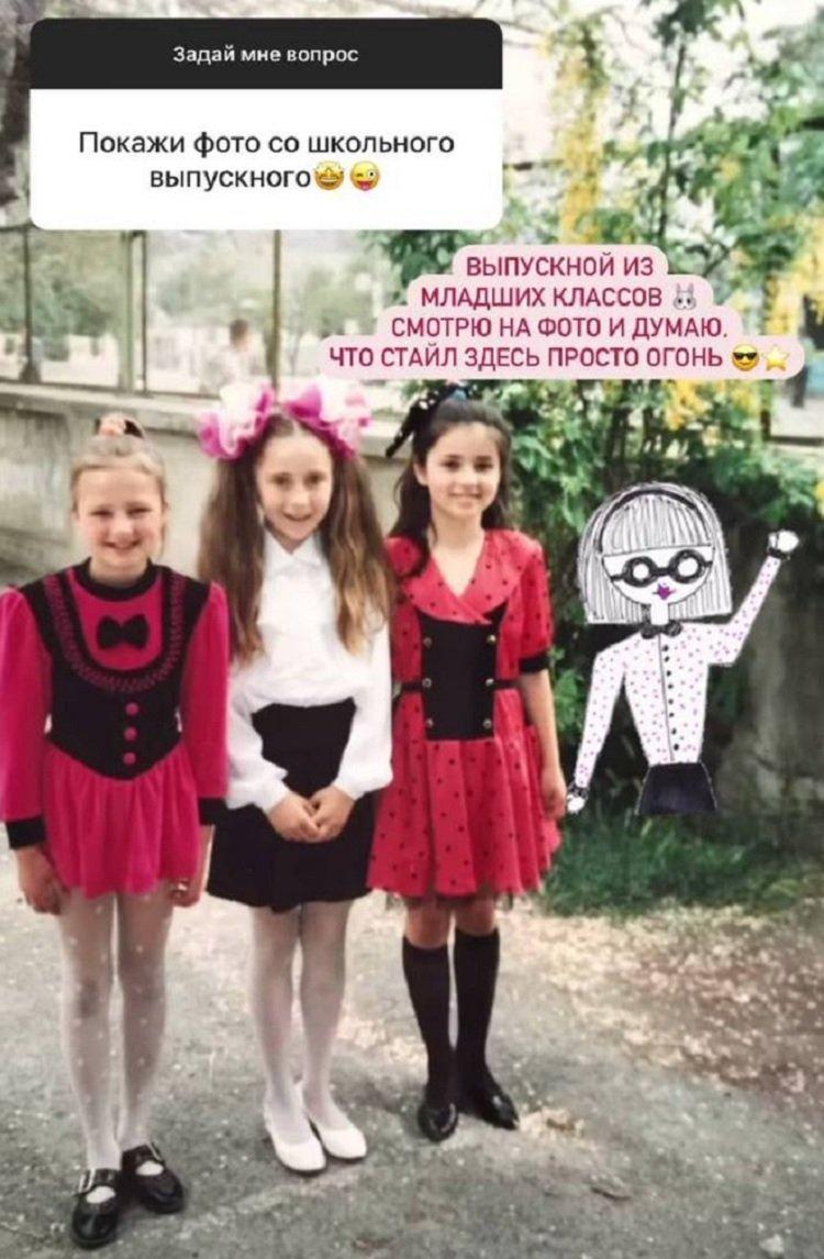 """""""Холостячка"""" Злата Огневич в дитинстві була модницею і носила стильні зачіски"""