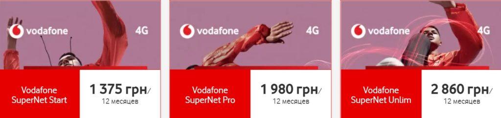 Vodafone збільшив абонплату в трьох популярних тарифних планах