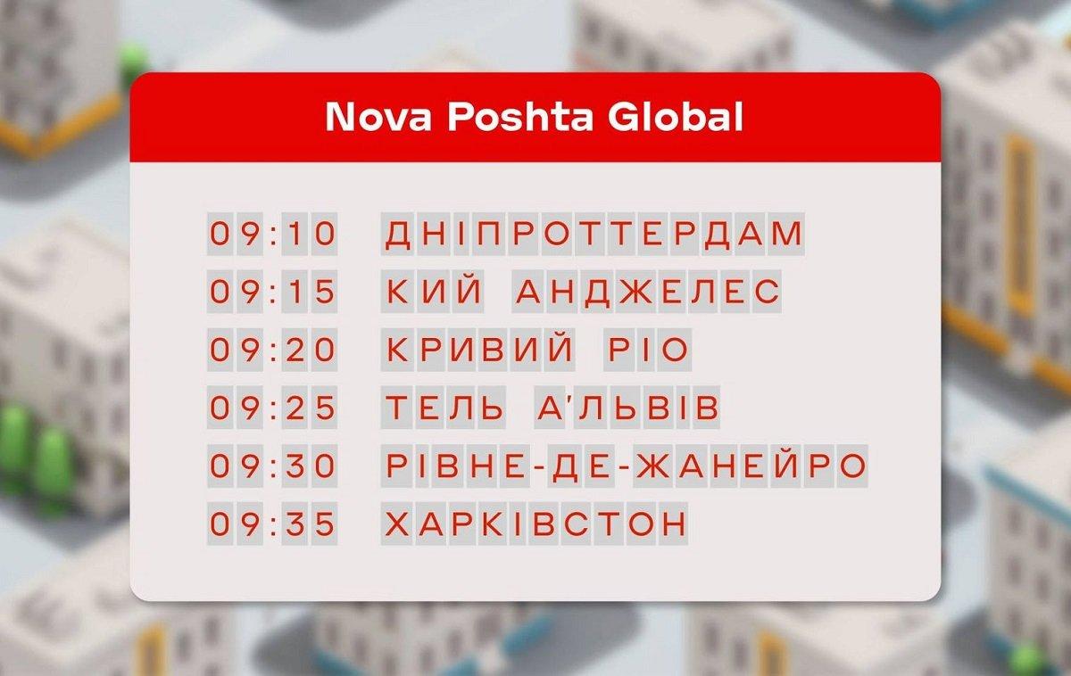 Новая почта запустила новый сервис по доставке посылок в любую точку мира