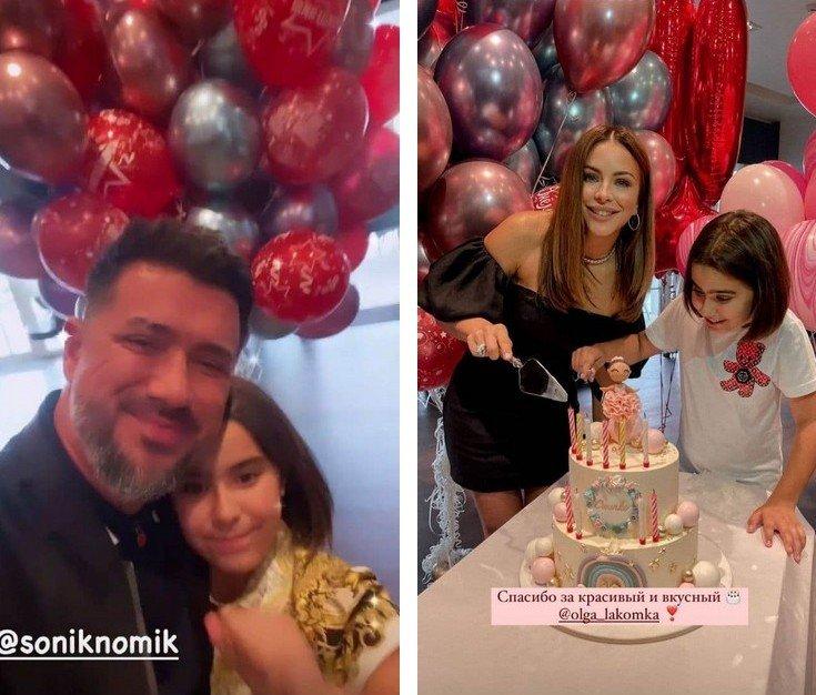 Ані Лорак з колишнім чоловіком влаштували гучну вечірку на честь 10-річчя дочки Софії
