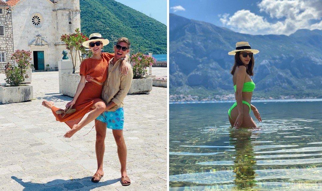 Володимир Остапчук відвіз дружину в романтичну відпустку в Чорногорію