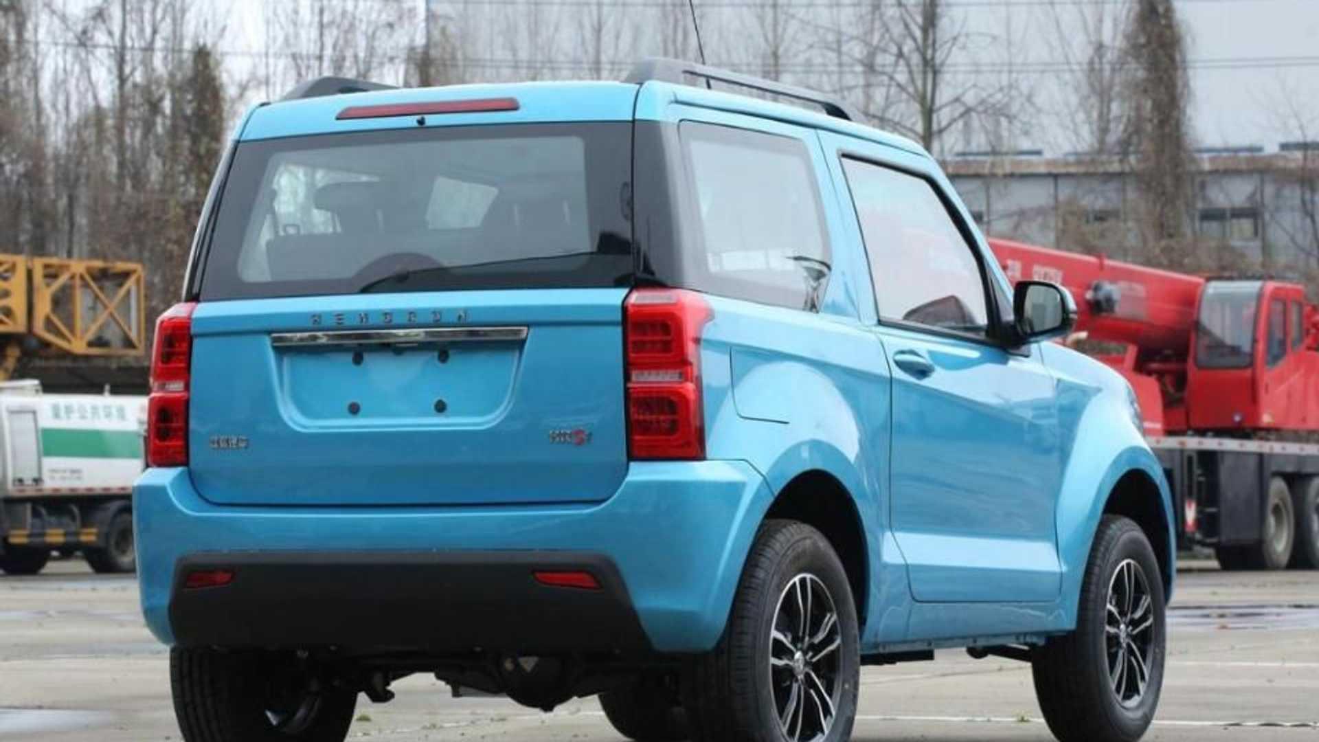Китайці створили альтернативу Suzuki Jimny за 7 800 доларів