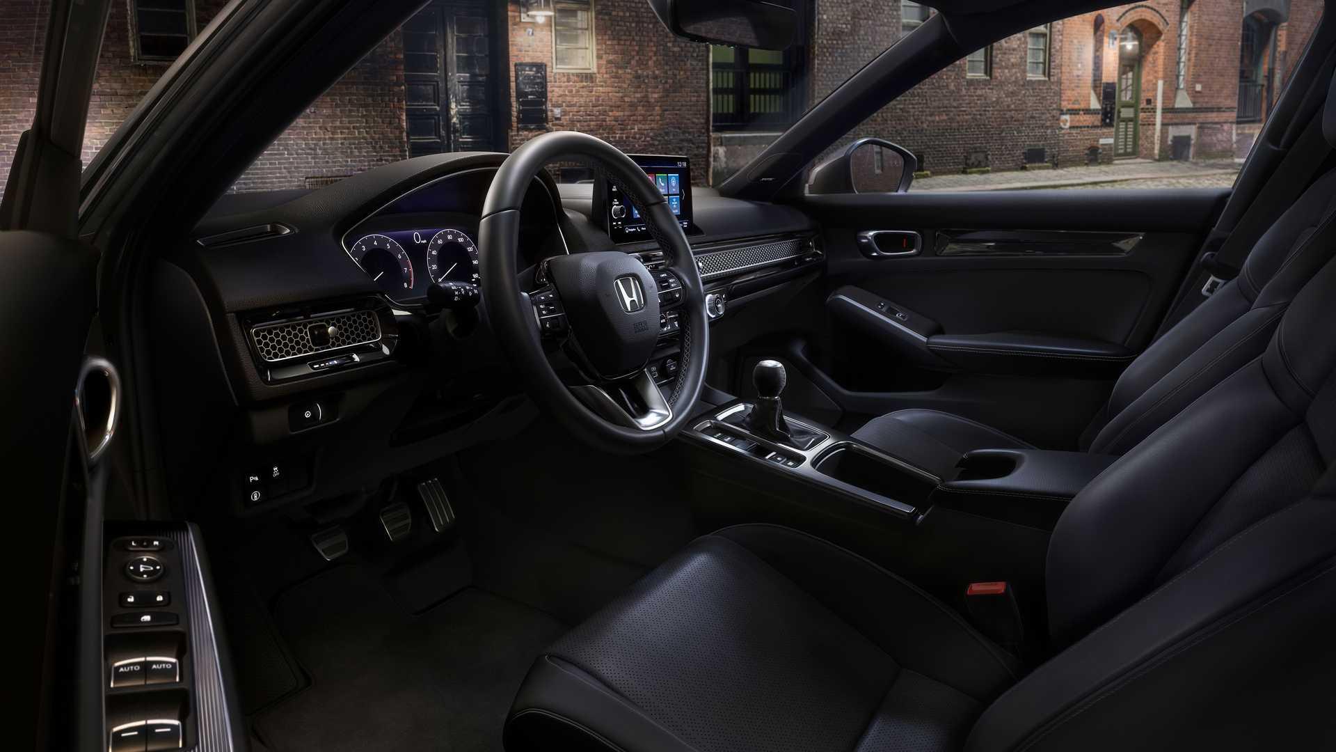 Honda представила оновлений хетчбек Honda Civic