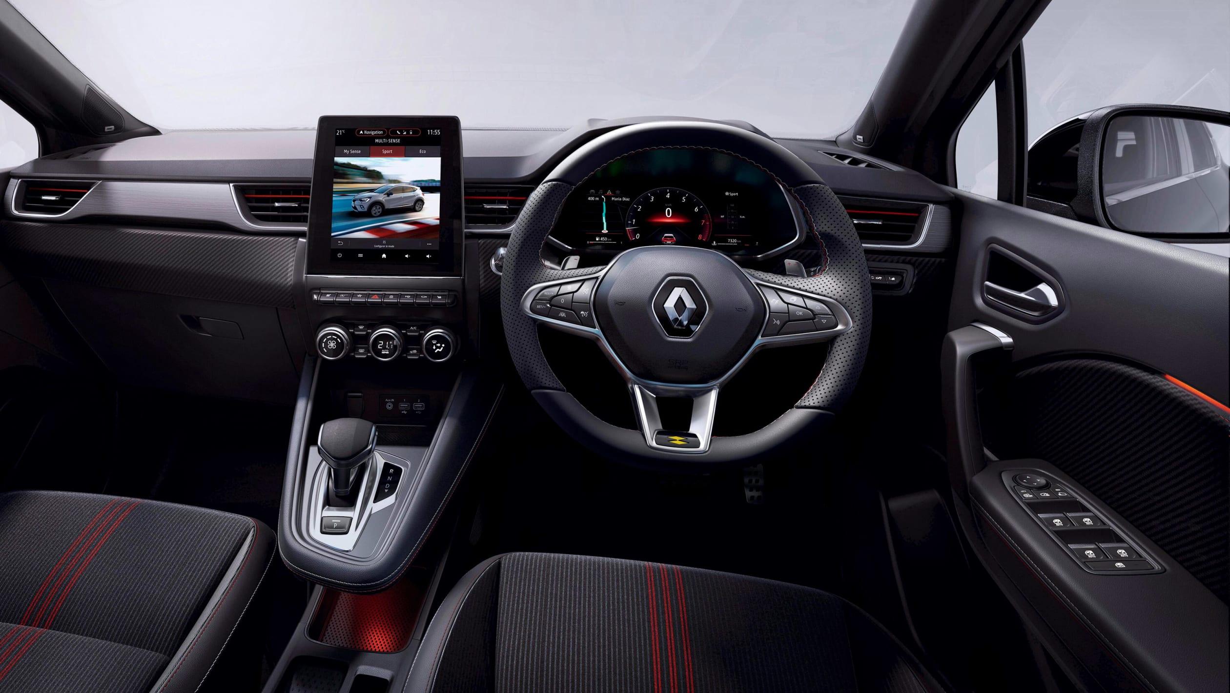 Стала відома ціна гібридного Renault Captur
