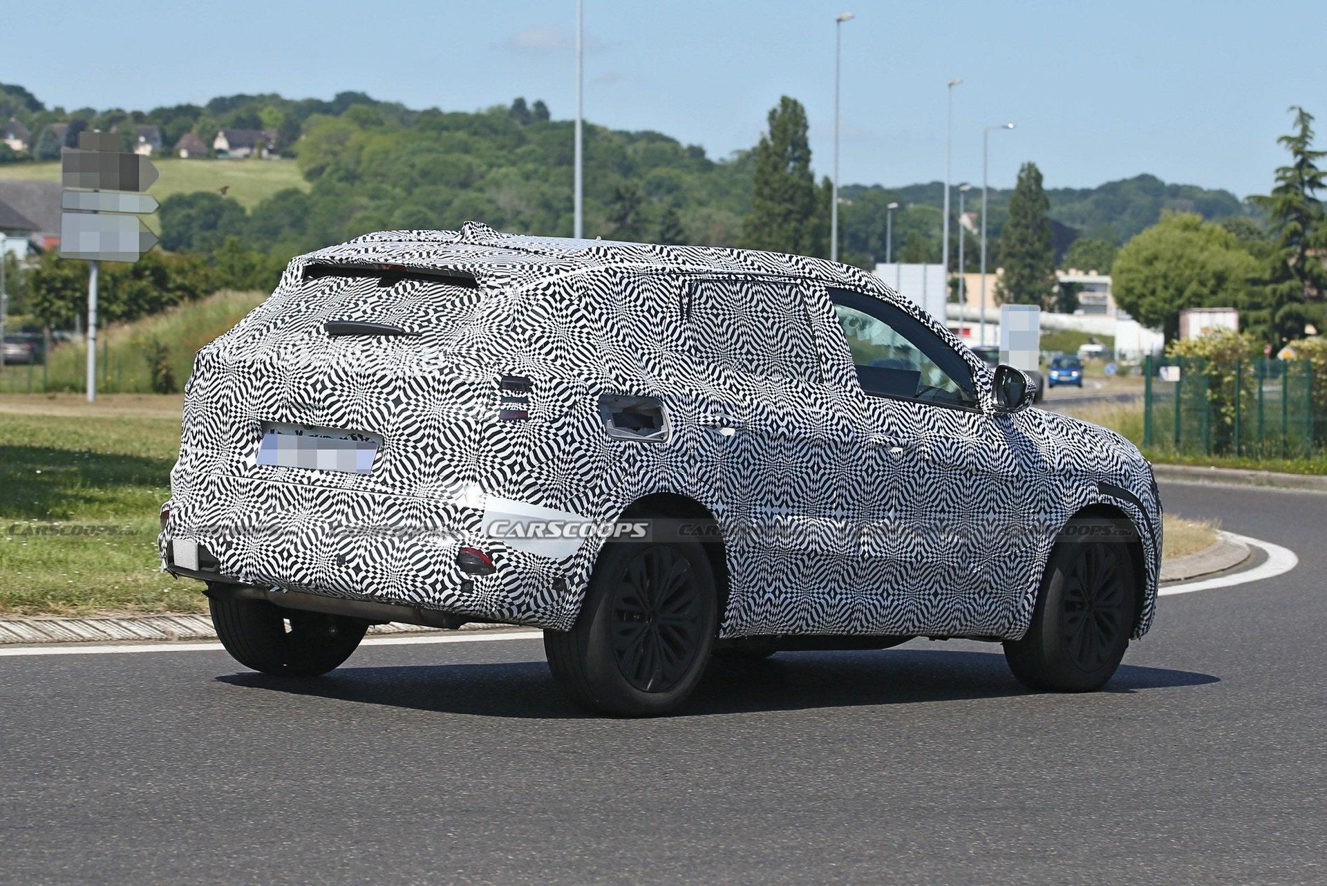 У Європі тестують новий Renault Kadjar