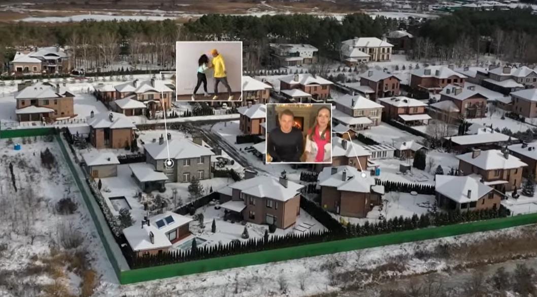 Будинок Каті Осадчої і Юрія Горбунова: У Мережу потрапило відео садиби ведучих