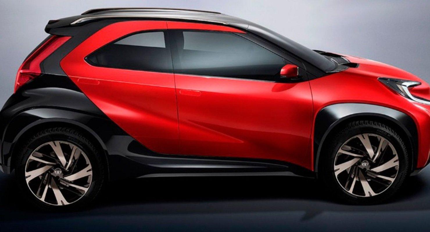 Toyota готується до випуску свого найменшого кросовера