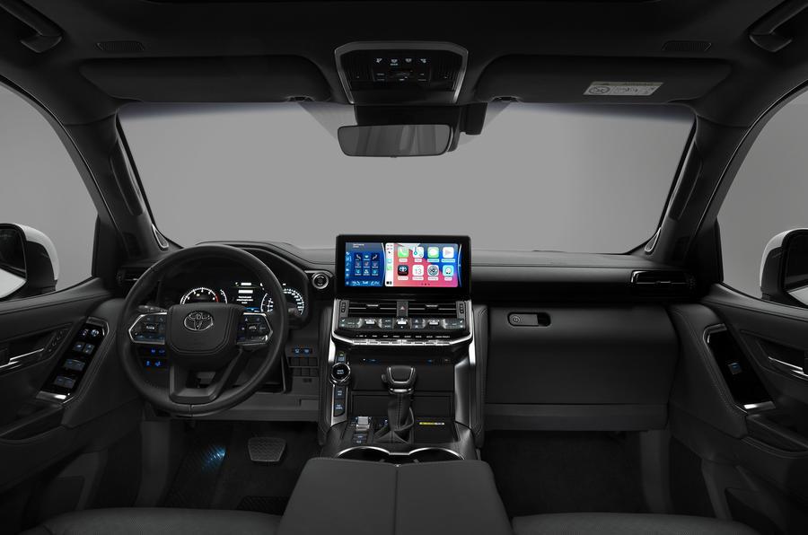 Toyota Land Cruiser 300 официально представили публике