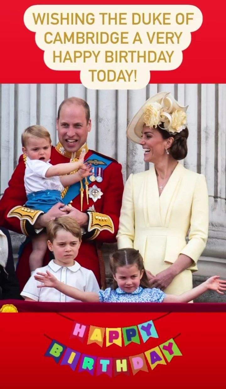 Принцу Вільяму виповнилося 39 років: як герцога привітала королівська сім'я