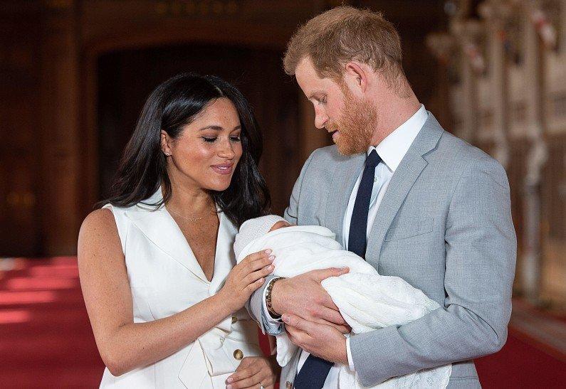 Опра Уинфри отказалась стать крестной матерью дочери Меган Маркл и принца Гарри