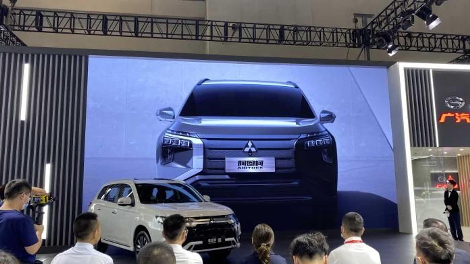 Mitsubishi в конце года начнет продавать новый кроссовер